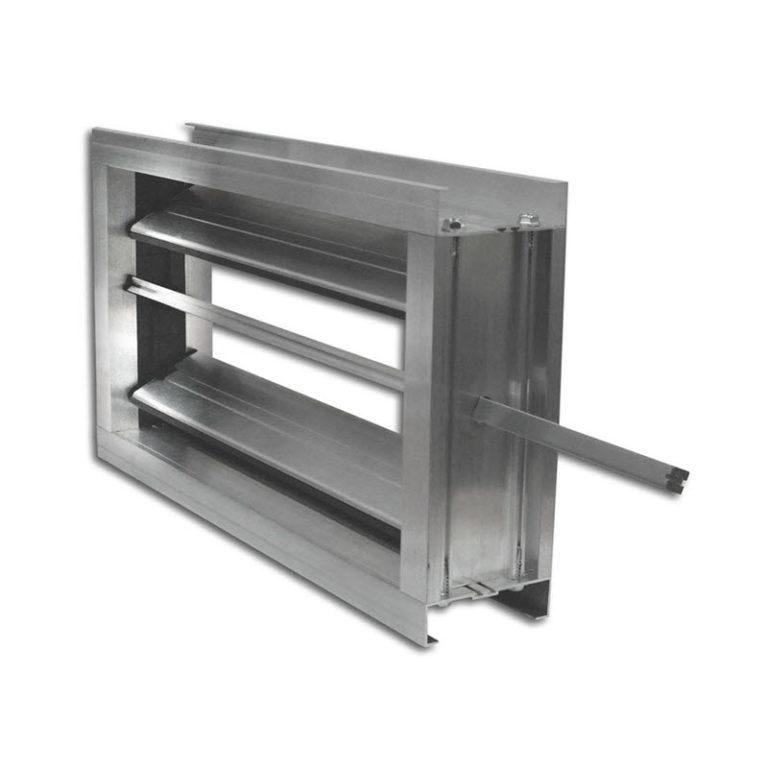 задвижка вентиляционная металлическая