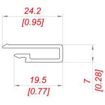 Обрамление PS15×7