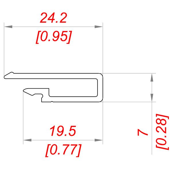 Профиль PS15×7