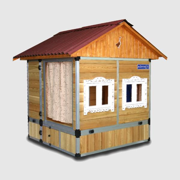 игровой дом на дачный участок
