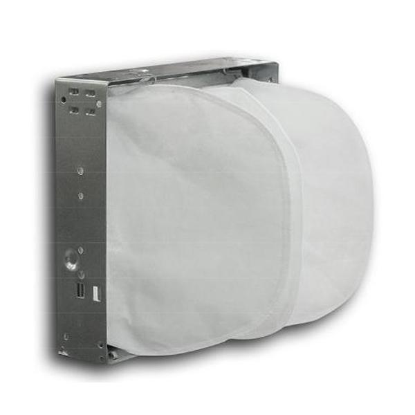 крепежная рамка с установленным фильтром