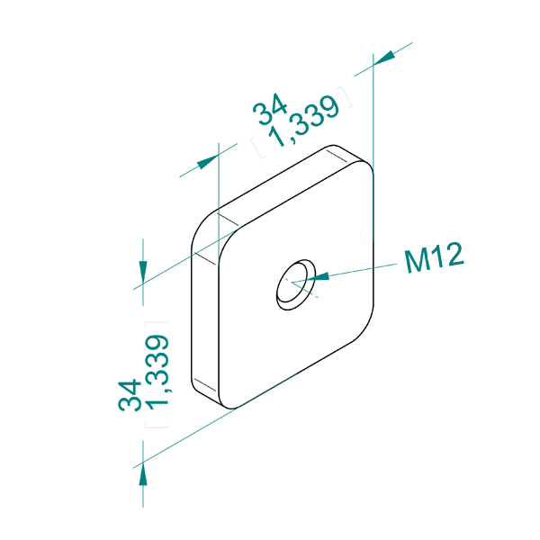 чертеж DS 12MA