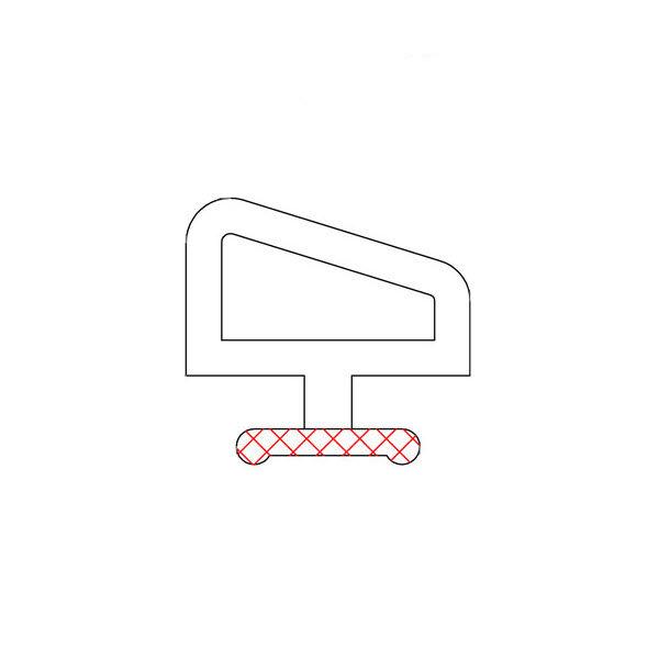 уплотнитель трубчатый для сендвич панелей