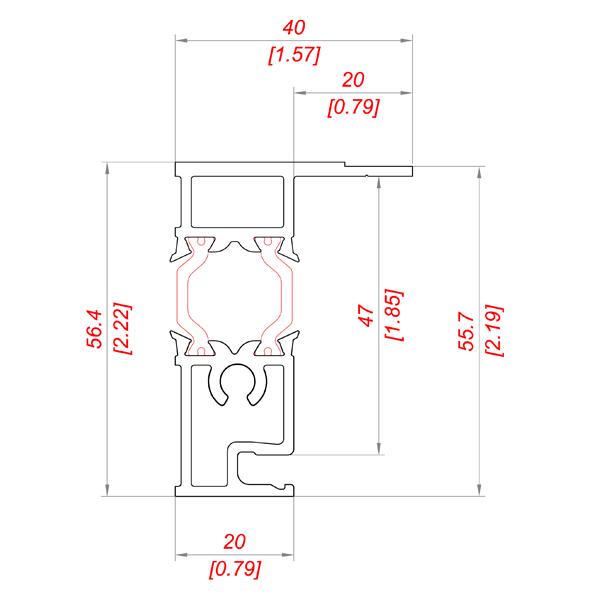 P 255/45_2 PS TB чертежи