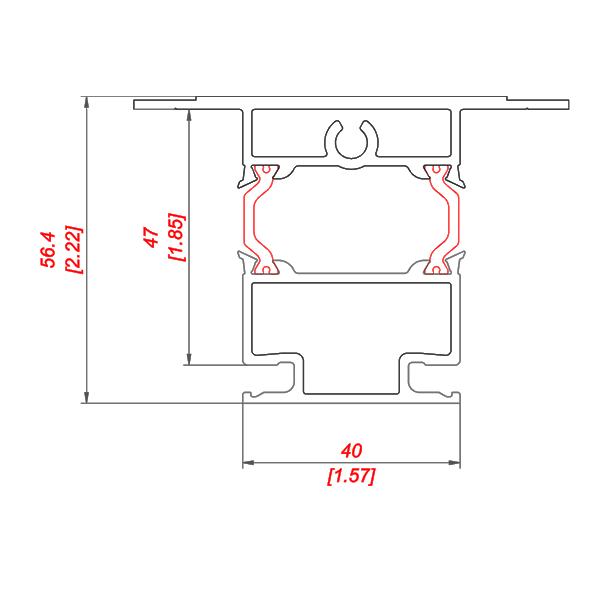 P 255/45 PS TB чертежи