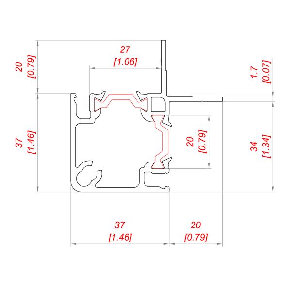 P 135/25 PS TB чертеж