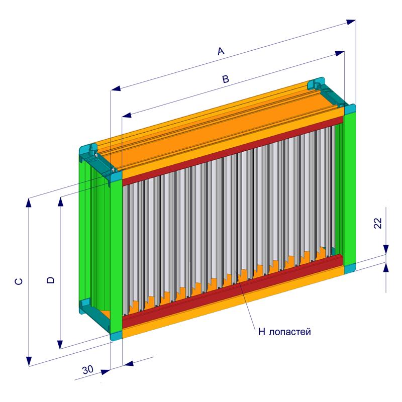 схема сборки сепаратора капель