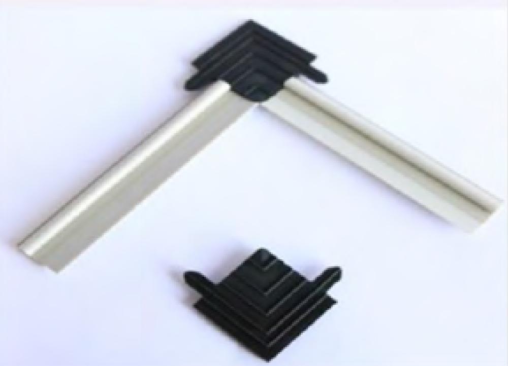 комплект из уплотнителя g002 и уголка gs-20
