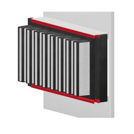 фильтровальная секция с уплотнителями