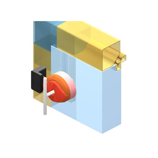 DN ISO 0 1 запорное устройство для термоизолированных корпусов
