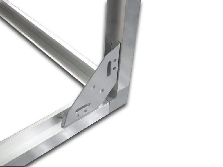 треугольная регулируемая стяжка для панельных корпусов