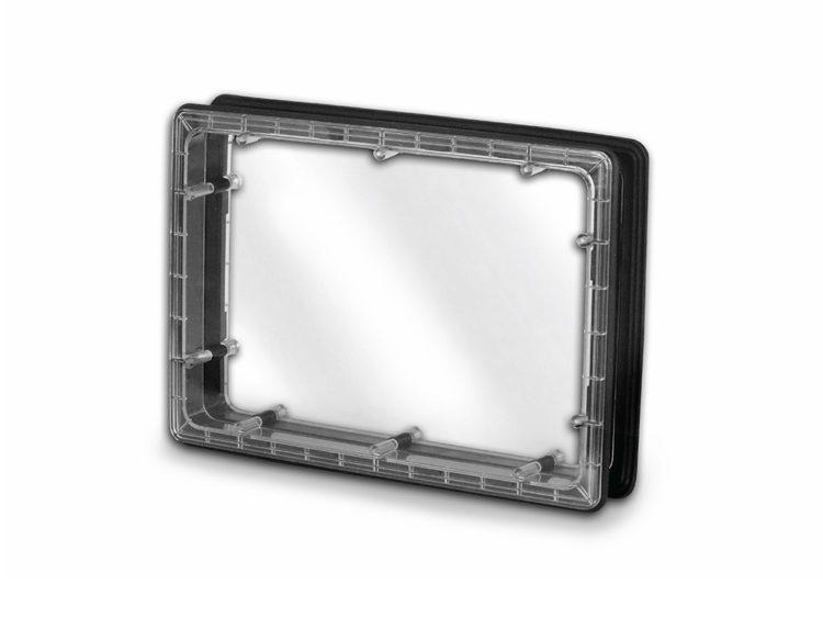 Иллюминатор прямоугольный, для панелей 25 мм.