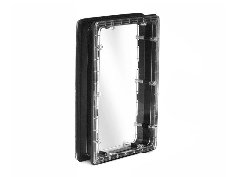 Иллюминатор прямоугольный, для панелей 60 мм