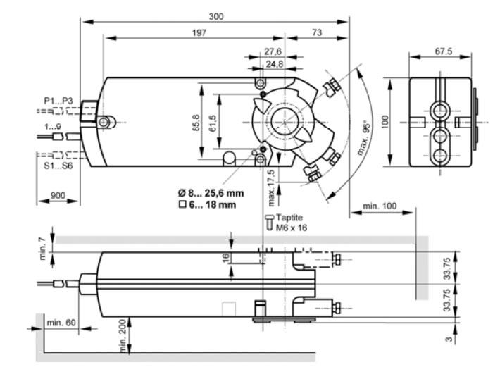 GIB 331.1E чертеж