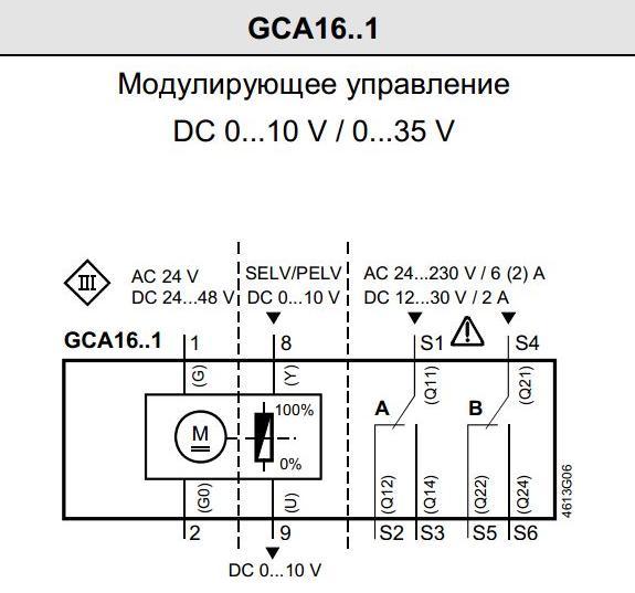 чертеж GCA 166.1E