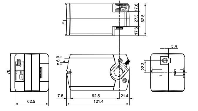 GSD 121.1A размеры