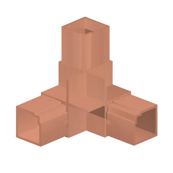 уголок соединительный для алюминиевого профиля