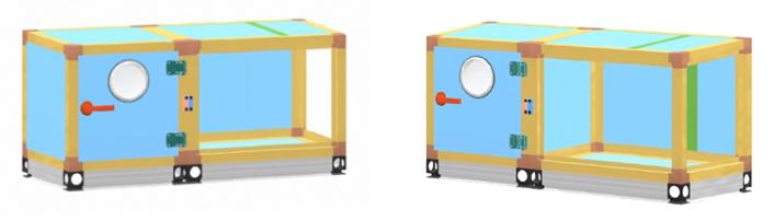 корпус климатический установки
