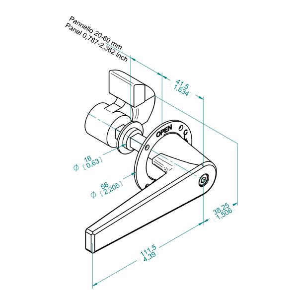 чертеж DN 200/20-25