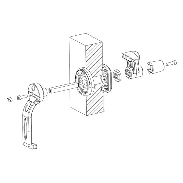 чертеж DN ISO 20/40 S