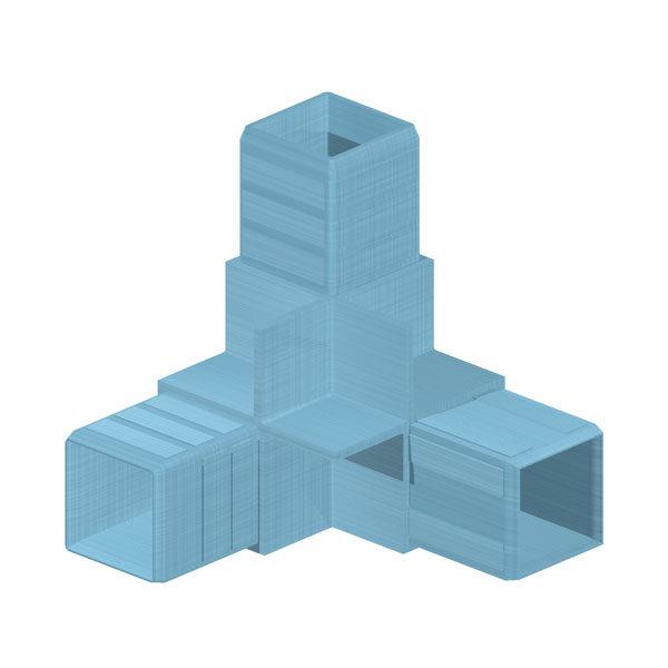 угловые соединители для алюминиевых профилей