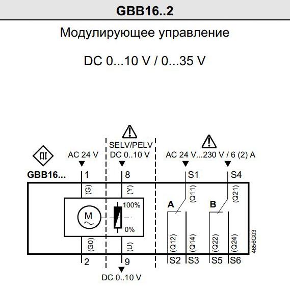 GBB 161.1E чертеж