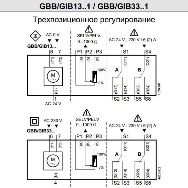 чертеж GIB 331.1E