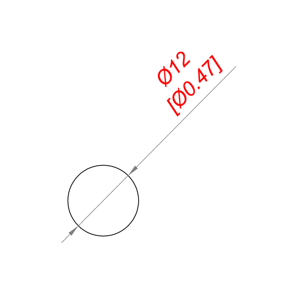 чертеж P 12 пруток d 12 мм