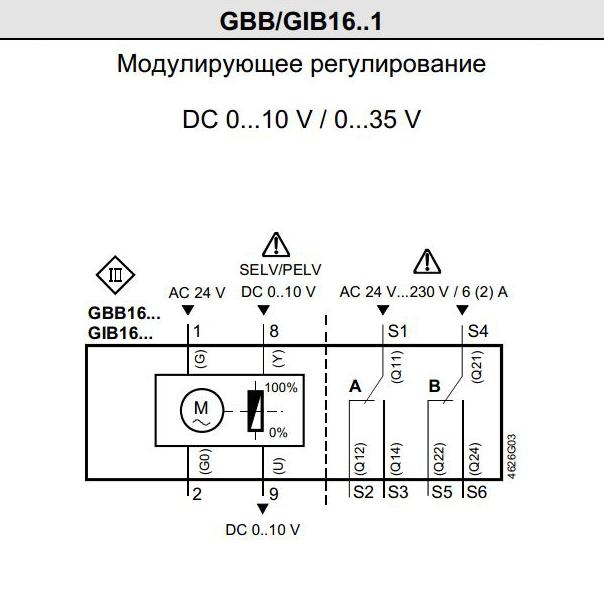 GIB 161.1E чертеж