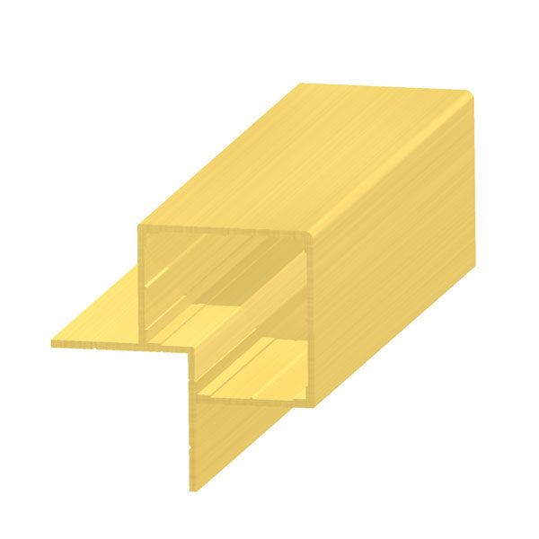 алюминиевый профиль для композитных панелей