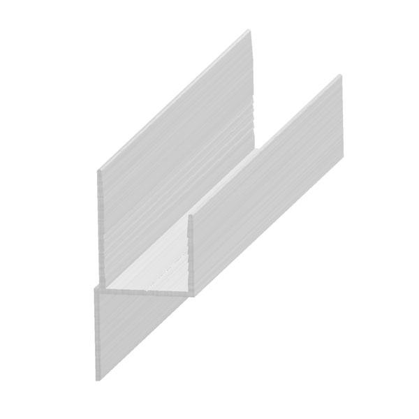 алюминиевое правило h образный профиль