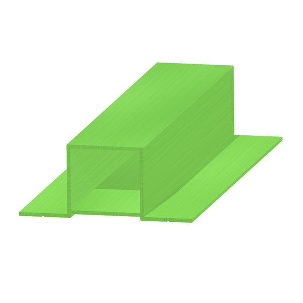 профиль прямоугольный врезной 30х27 мм