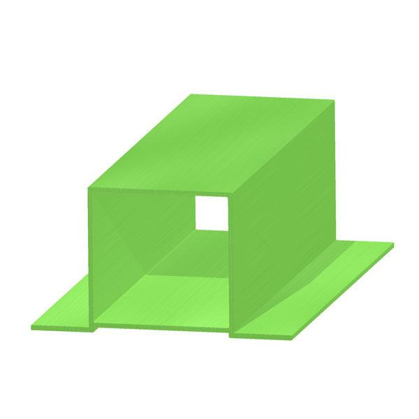 Архитектурный алюминиевый профиль