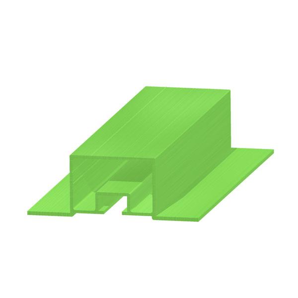 алюминиевый конструкционный профиль с т-образным пазом