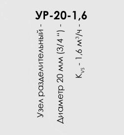 разделительный узел номера