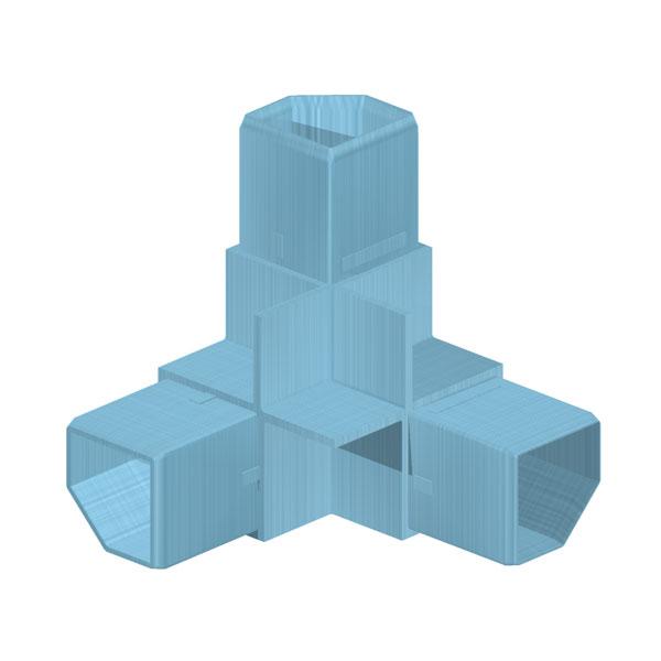 соединители для алюминиевых трубок
