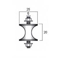 X-образный демпфер размер