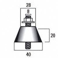 демпфер резинометаллический размеры