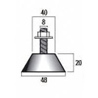 резинометаллический демпфер размеры